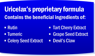 Uricelax Ingredients